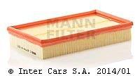 Filtr powietrza MANN FILTER C 2774/3 KIT