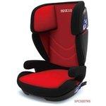 Fotelik samochodowy SPARCO F700i ISOFIX - 15-36 kg - czerwono-szary