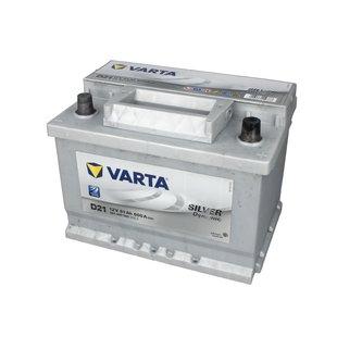 Akumulator VARTA SILVER DYNAMIC D21 - 61Ah 600A P+ - Montaż w cenie przy odbiorze w warsztacie!