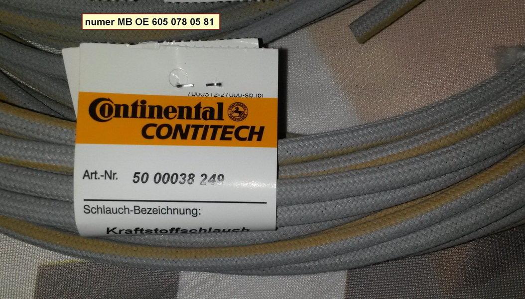 Przewód paliwowy CONTI 5000038249/1 - darmowa dostawa do 5000 warsztatów Motointegrator Partner i 170 sklepów Inter Cars