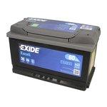 Akumulator EXIDE EXCELL EB800 - 80Ah 640A P+ - Montaż w cenie przy odbiorze w warsztacie!