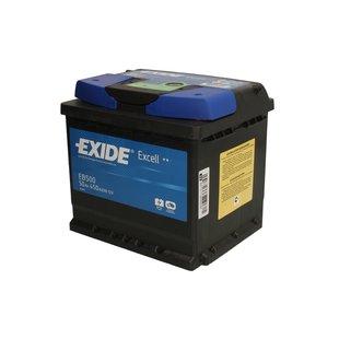 Akumulator EXIDE EXCELL EB500 - 50Ah 450A P+ - Montaż w cenie!