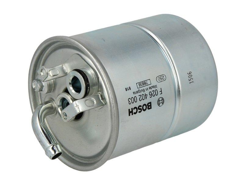 Filtr paliwa BOSCH F 026 402 003 - darmowa dostawa do 5000 warsztatów Motointegrator Partner i 170 sklepów Inter Cars