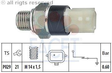 Czujnik ciśnienia oleju EPS 7.0178