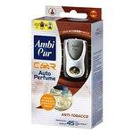 Zapach samochodowy AMBI PUR Anti Tobacco komplet