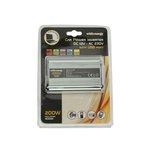 Przetwornica samochodowa WHITENERGY 12/230 V, 200 W + USB