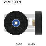 Rolka prowadząca pasek klinowy SKF VKM 32001