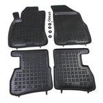 Fiat Doblo II od 2009, 5 siedzeń, 7 siedzeń .. dywaniki gumowe  REZAW-PLAST RP-D 201512
