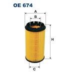 Wkład filtra oleju FILTRON OE674