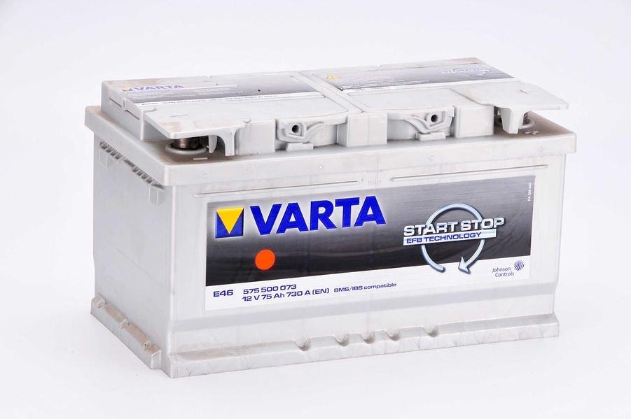 Akumulator VARTA START STOP E46 - 75Ah 730A P+