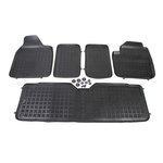 Seat Alhambra 1995-2010, 7 siedzeń dywaniki gumowe REZAW-PLAST RP-D 200103