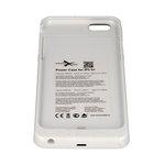 Bateria zewnętrzna do Apple iPhone 6 Plus - biała, 4800mAh