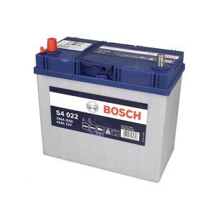Akumulator BOSCH SILVER S4 022 - 45Ah 330A L+ - Montaż w cenie przy odbiorze w warsztacie!