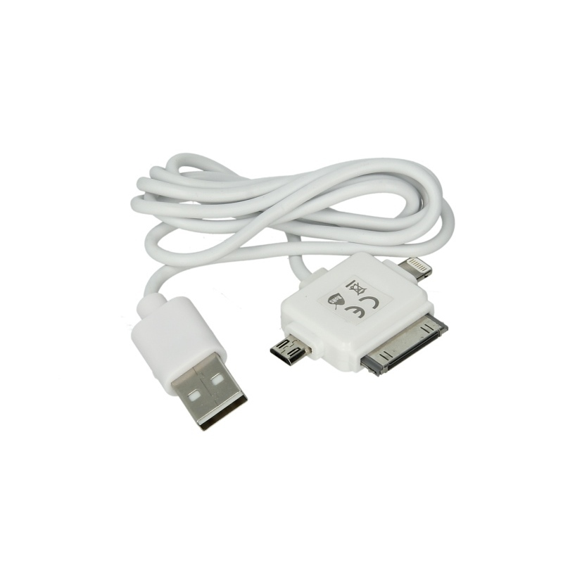 kabel usb 3w1 iphone 4 iphone 5 micro usb mammooth sklep inter cars. Black Bedroom Furniture Sets. Home Design Ideas