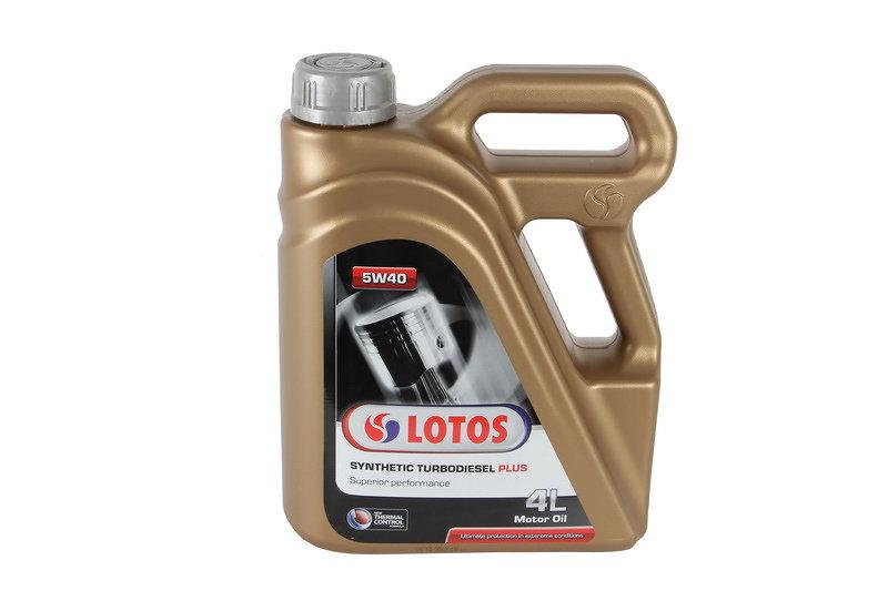 Olej silnikowy syntetyczny LOTOS LOTOS SYNT.TURBOD.PL.4L