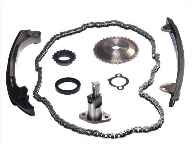 Rozrząd komplet (koło + łańcuch) OSK EK2063