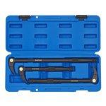 3pc zestaw płytkich łomów z mechanizmem zapadkowym w walizce SONIC