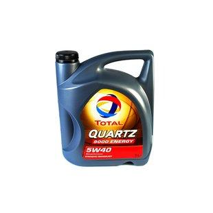 Olej TOTAL Quartz 9000 Energy 5W40, 5 litrów