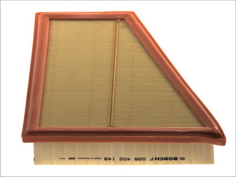 Wkład filtra powietrza BOSCH F 026 400 149 - darmowa dostawa do 5000 warsztatów Motointegrator Partner i 170 sklepów Inter Cars
