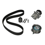 Rozrząd komplet (pasek + rolka + pompa wody) HEPU PK05500