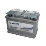 Akumulator VARTA DUAL PURPOSE AGM - 70Ah 760A P+