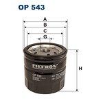 Filtr oleju FILTRON OP543
