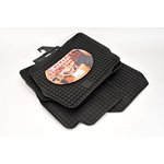 FORD Mondeo III 2007- dywaniki gumowe czarny POLGUM PGP09