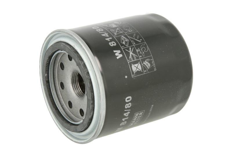 Filtr oleju MANN W 814/80 - darmowa dostawa do 5000 warsztatów Motointegrator Partner i 170 sklepów Inter Cars