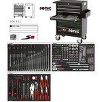 Wózek narzędziowy SONIC 206 elementów