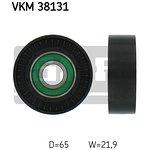 Rolka prowadząca pasek klinowy SKF VKM 38131