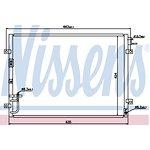 Chłodnica klimatyzacji NISSENS 94636