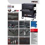 Wózek narzędziowy SONIC 390 elementów