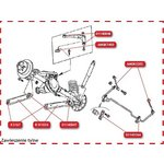 Łącznik drążka stabilizatora MOOG AMGK3202