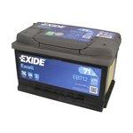 Akumulator EXIDE EXCELL EB712 - 71Ah 670A P+