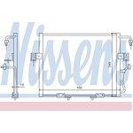 Chłodnica klimatyzacji NISSENS 94802