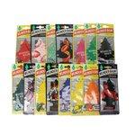 Zapach samochodowy WUNDER-BAUM Mix, 15 sztuk
