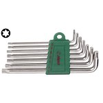 Zestaw kluczy trzpieniowych Torx HANS 7 sztuk