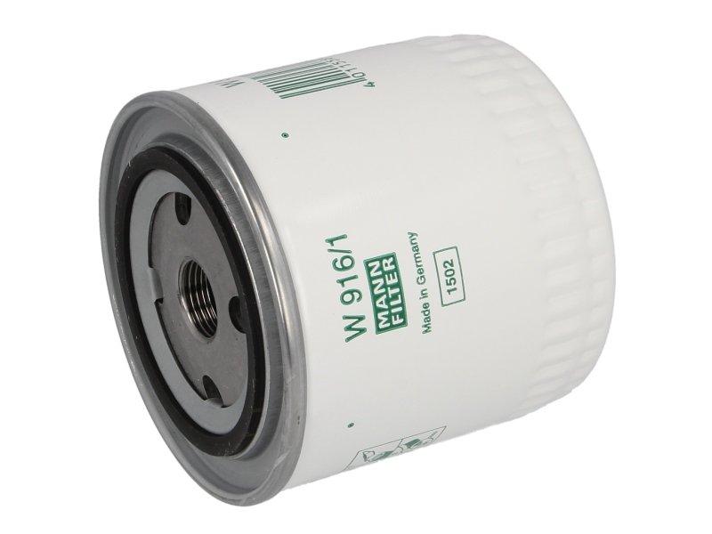 Filtr oleju MANN W 916/1 - darmowa dostawa do 5000 warsztatów Motointegrator Partner i 170 sklepów Inter Cars
