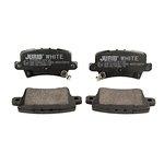 Ceramiczne klocki hamulcowe JURID WHITE 572580JC